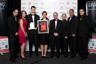 The Secured Signing team - sharing our vision at the Westpac Awards