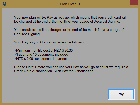 Upgrade to Pay As You Go account