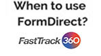 When to use FormDirect