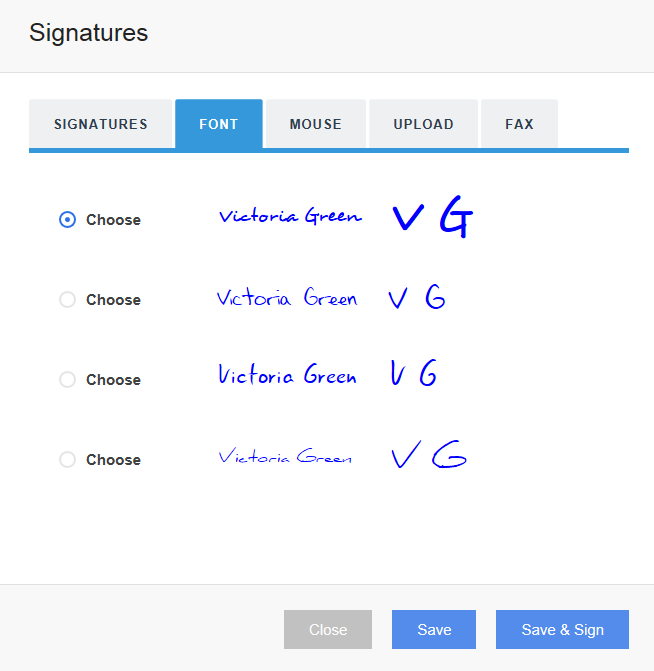 Digitally sign your We Sign invitation