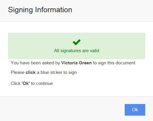 Capture your graphical signature before digitally signing